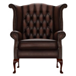BYRON WINGCHAIR ANTIQUE BROWN