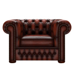 CHESTERFIELD CLASSIC FÅTÖLJ ANTIQUE CHESTNUT