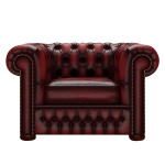 CHESTERFIELD CLASSIC FÅTÖLJ ANTIQUE RED
