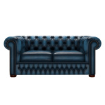 CHESTERFIELD CLASSIC 2-SITS ANTIQUE BLUE