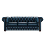 CHESTERFIELD CLASSIC 3-SITS ANTIQUE BLUE