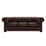 CHESTERFIELD CLASSIC 3-SITS ANTIQUE BROWN