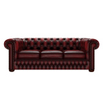 CHESTERFIELD CLASSIC 3-SITS ANTIQUE RED