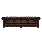 CHESTERFIELD CLASSIC 4-SITS ANTIQUE BROWN