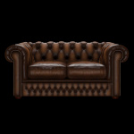 SHACKLETON CHESTERFIELD 2-SITS ANTIQUE AUTUMN TAN