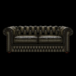SHACKLETON CHESTERFIELD 3-SITS ANTIQUE OLIVE