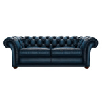 SHAKESPEARE CHESTERFIELD 3-SITS ANTIQUE BLUE