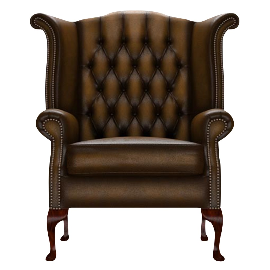 BYRON WINGCHAIR ANTIQUE GOLD i gruppen  hos HolyHome (Byron1A-Gold)