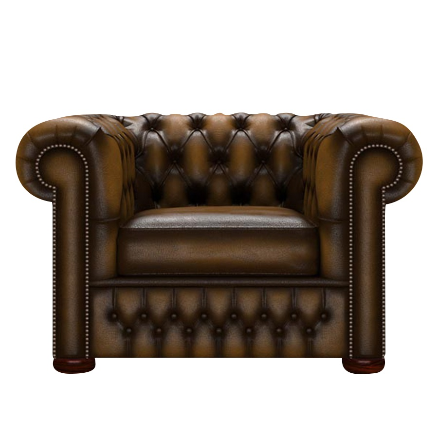 CHESTERFIELD CLASSIC FÅTÖLJ ANTIQUE GOLD i gruppen  hos HolyHome (Chest1A-Gold)
