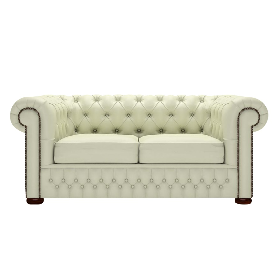 CHESTERFIELD CLASSIC 2-SITS SUPREME CREAM i gruppen Chesterfield / Chesterfield soffor 2-sits hos HolyHome (Chest2Bi-Birch)