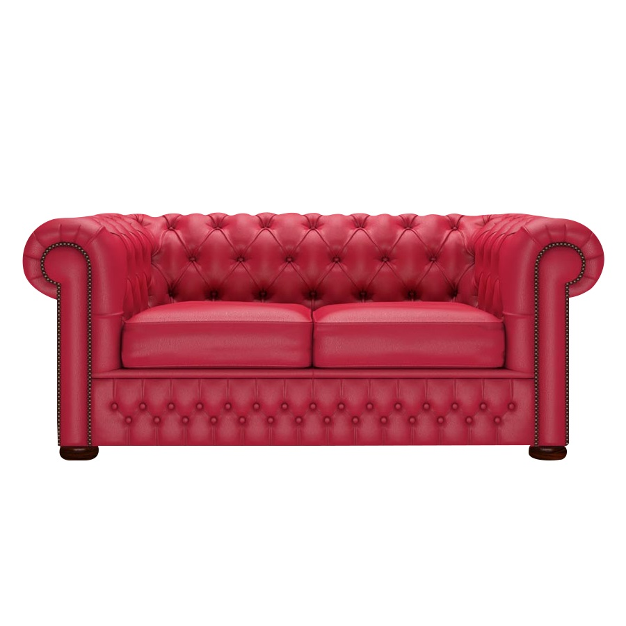 CHESTERFIELD CLASSIC 2-SITS SUPREME FLAME RED i gruppen Chesterfield / Chesterfield soffor 2-sits hos HolyHome (Chest2Sh-FlameRed)