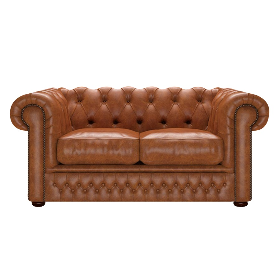SHACKLETON CHESTERFIELD 2-SITS OLD ENGLISH SADDLE i gruppen  hos HolyHome (SHACK2OE-SADDLE)