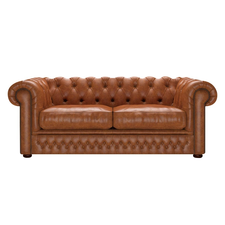 SHACKLETON CHESTERFIELD 3-SITS OLD ENGLISH SADDLE i gruppen  hos HolyHome (Shack3OE-Saddle)