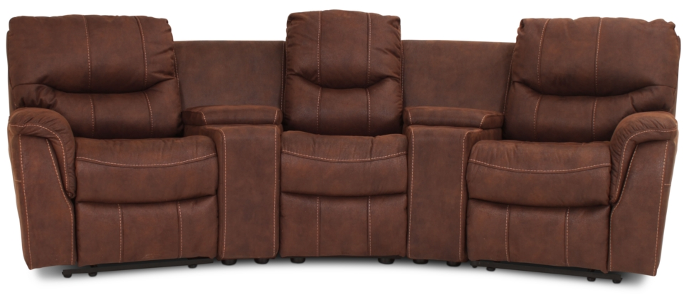 Colorado Recliner 3:a brun