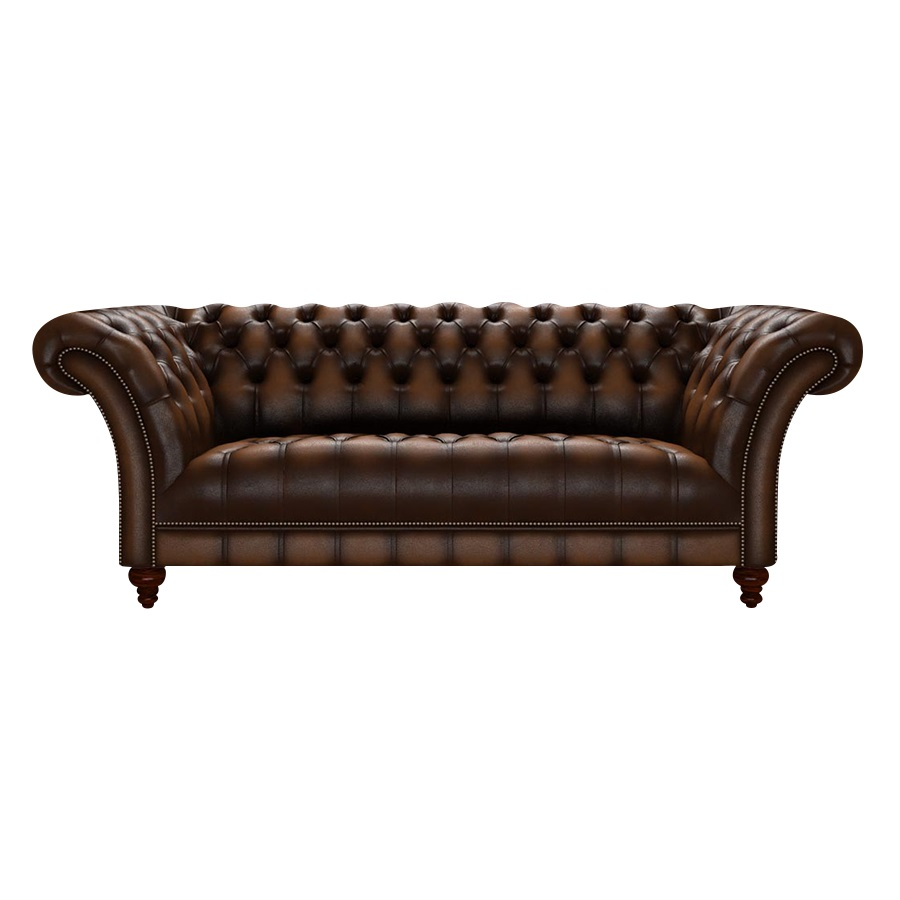 MONTGOMERY CHESTERFIELD ANTIQUE AUTUMN TAN