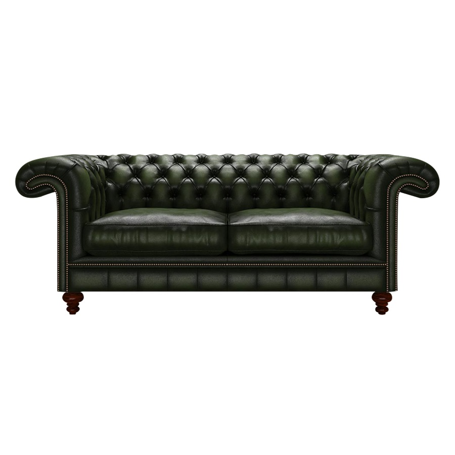 ALLINGHAM CHESTERFIELD 3-SITS ANTIQUE GREEN