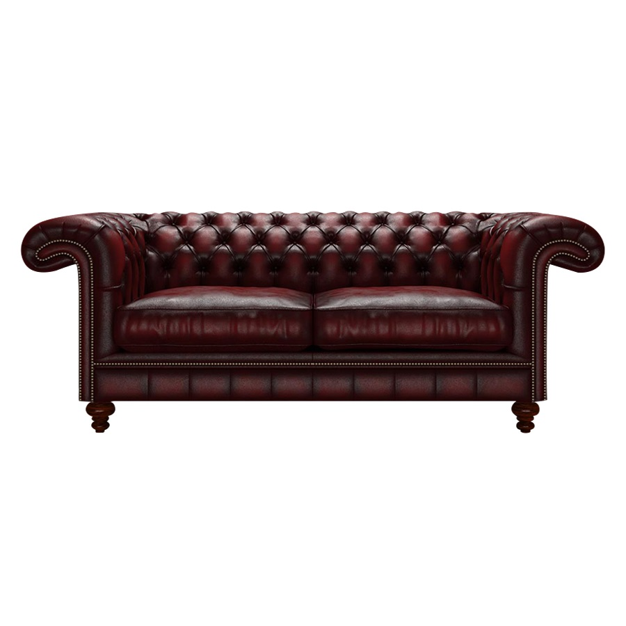 ALLINGHAM CHESTERFIELD 3-SITS ANTIQUE RED
