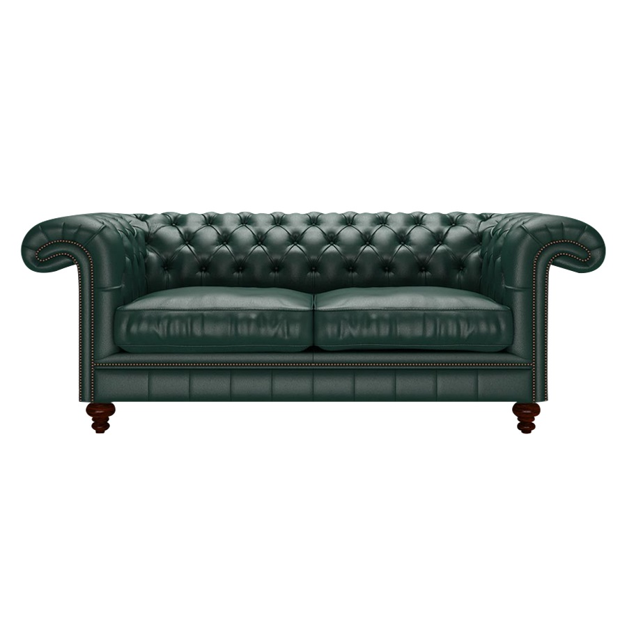 ALLINGHAM CHESTERFIELD 3-SITS BIRCH FOREST GREEN