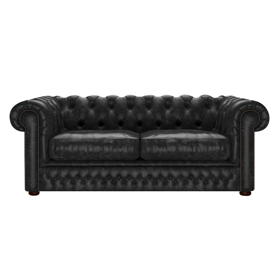Shackleton Chesterfield 3-sits Etna Black