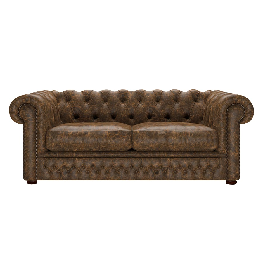Shackleton Chesterfield 3-sits Etna Brandy