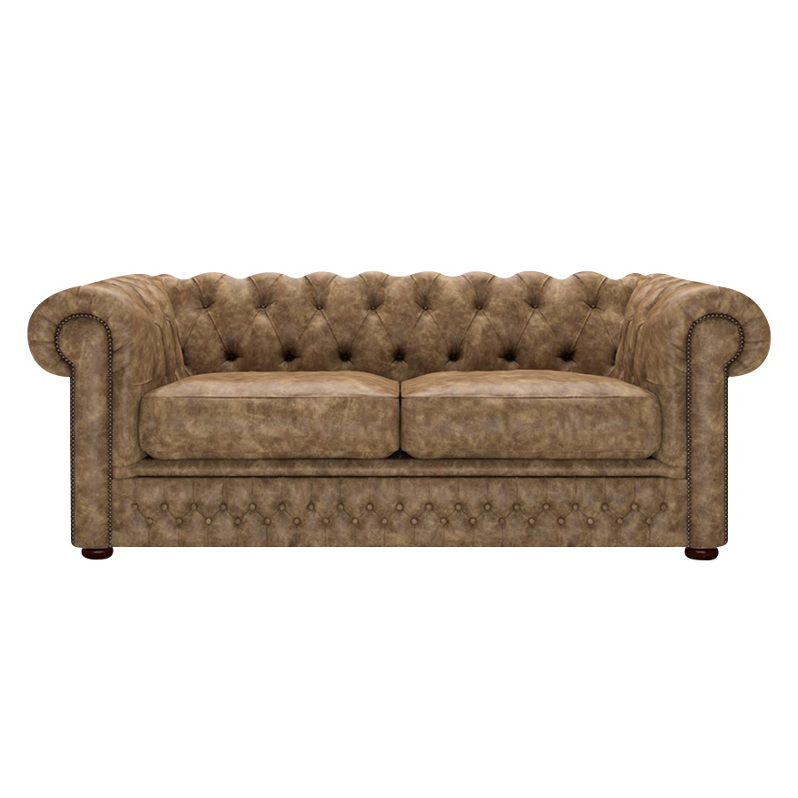 Shackleton Chesterfield 3-sits Etna Camel