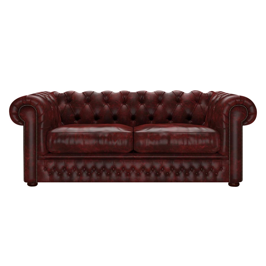 Shackleton Chesterfield 3-sits Etna Red