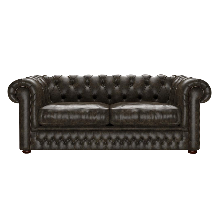 Shackleton Chesterfield 3-sits Old English Alga