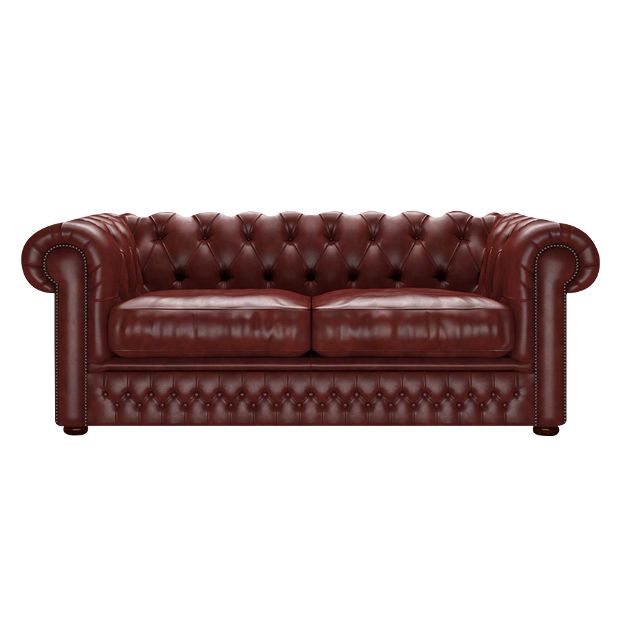 Shackleton Chesterfield 3-sits Old English Chestnut