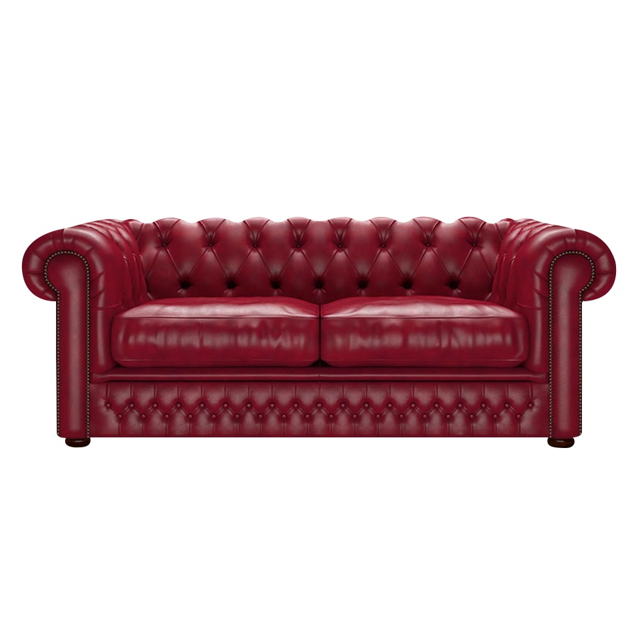 Shackleton Chesterfield 3-sits Old English Gamay