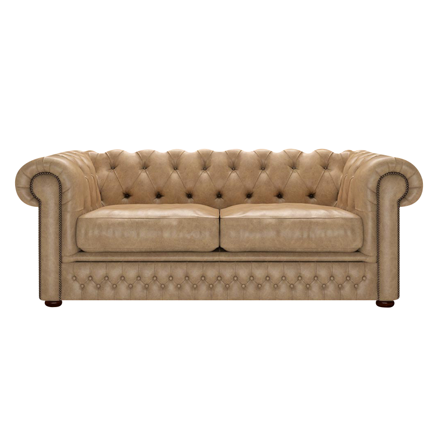 Shackleton Chesterfield 3-sits Old English Parchment