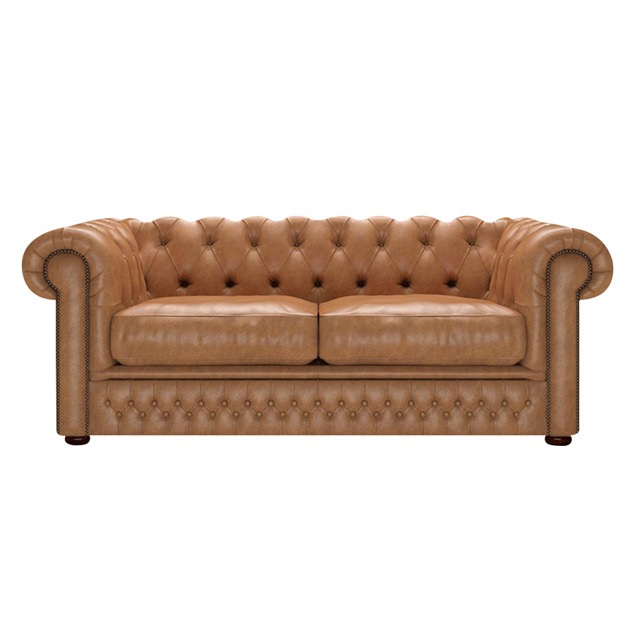 Shackleton Chesterfield 3-sits Old English Tan