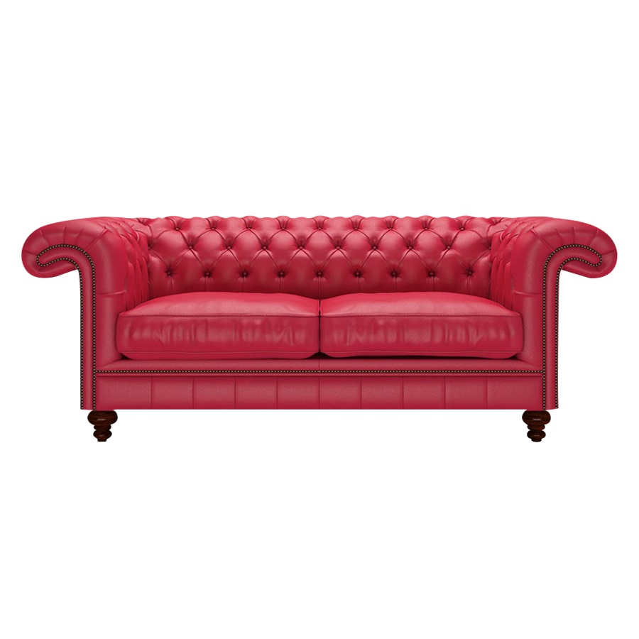 ALLINGHAM CHESTERFIELD 3-SITS SHELLY FLAME RED