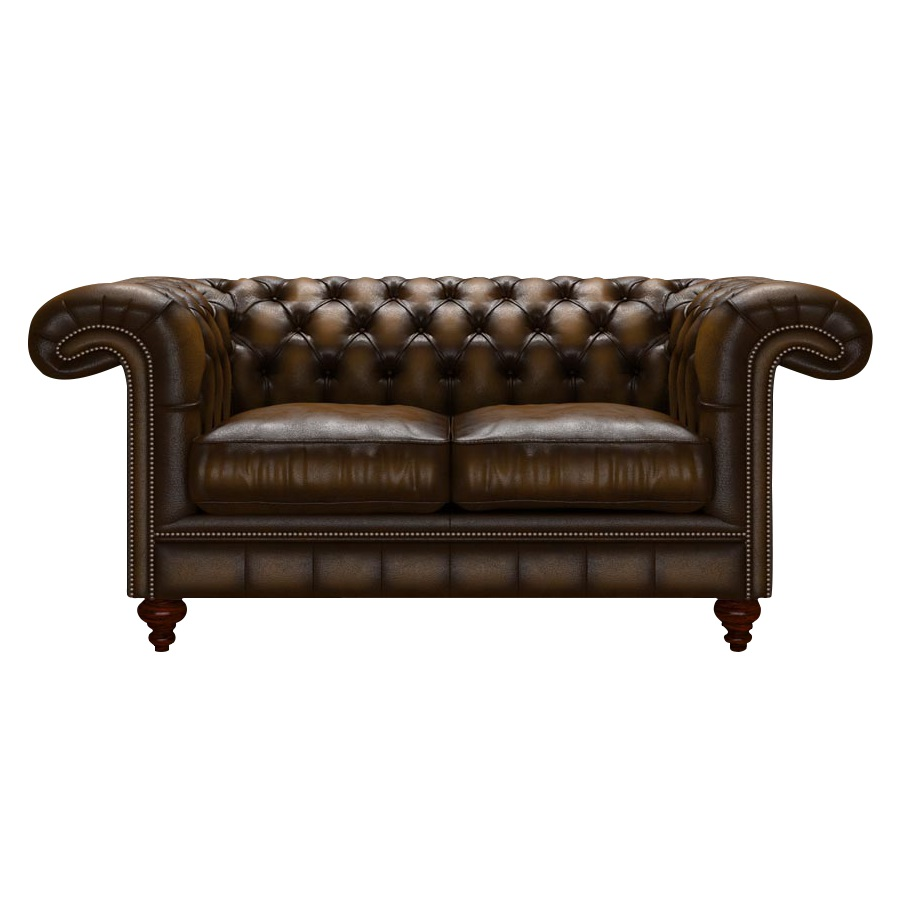 ALLINGHAM CHESTERFIELD 2-SITS ANTIQUE GOLD