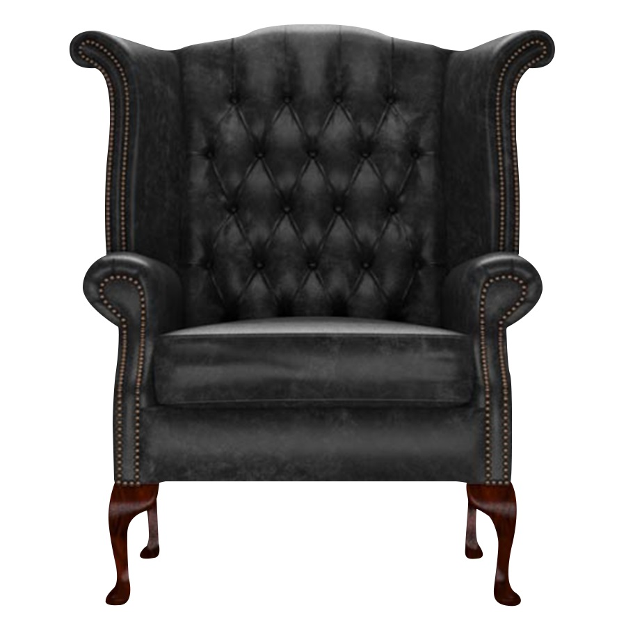 BYRON WINGCHAIR - ETNA BLACK