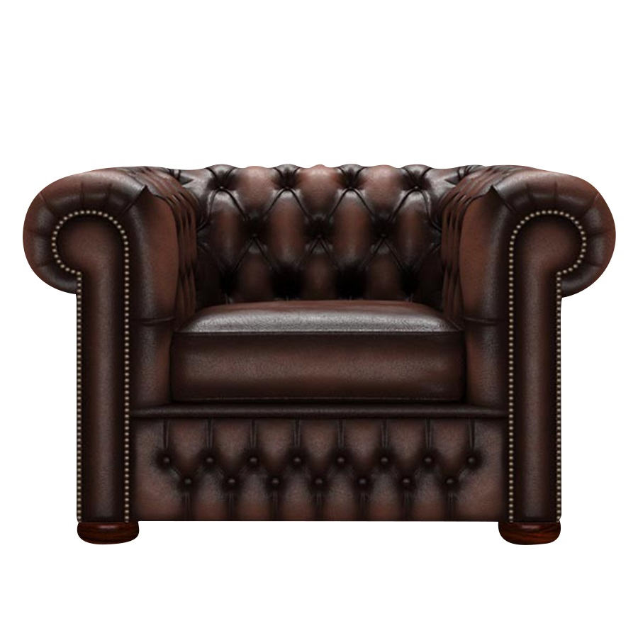 CHESTERFIELD CLASSIC FÅTÖLJ ANTIQUE BROWN