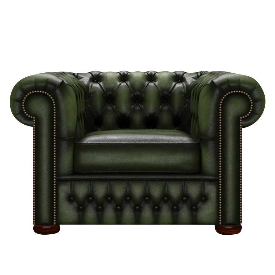 CHESTERFIELD CLASSIC FÅTÖLJ ANTIQUE GREEN