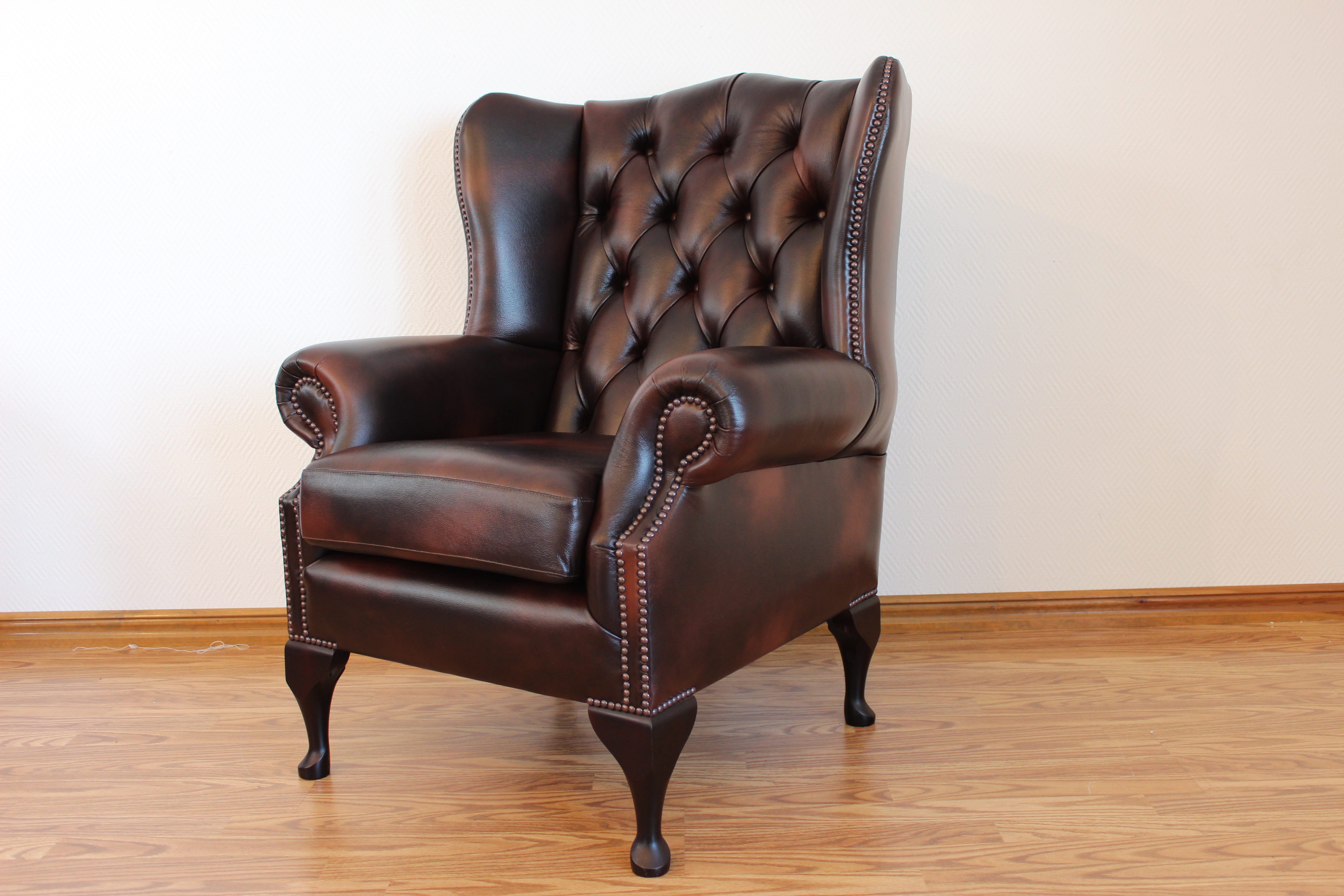 Lord II - Wingchair - Old English Leather